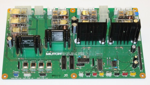 Mutoh ValueJet Heater Relay Board VJ1614/1604