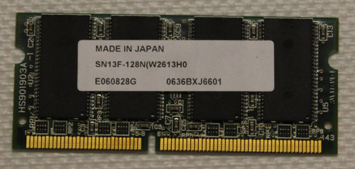 ValueJet 1604 Main Board Memory Module