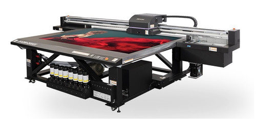 Mimaki JFX200-2513 EX wide format flatbed UV-LED printer