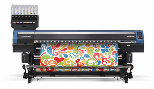 Mimaki TS300P-1800 wide format dye sublimation inkjet printer