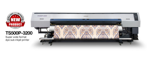 Mimaki TS500P-3200 super wide format dye sublimation inkjet printer