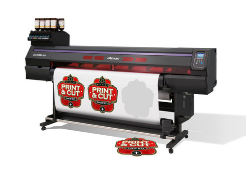 Mimaki UCJV300-130 UV-LED Roll to Roll Cut-and-Print