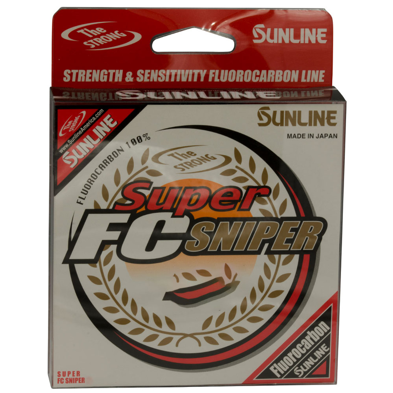 Sunline Super FC Sniper Clear Fluorocarbon 200 Yards-Select Size