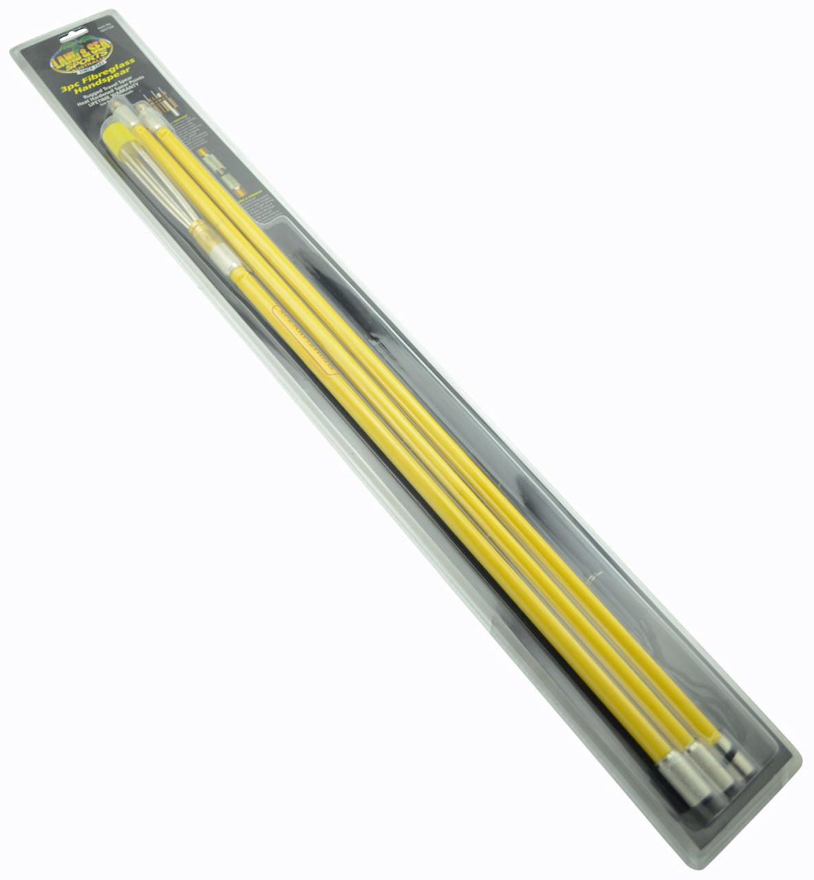 Ocean Hunter Fibre Glass Hand Spear Yellow 2.0m