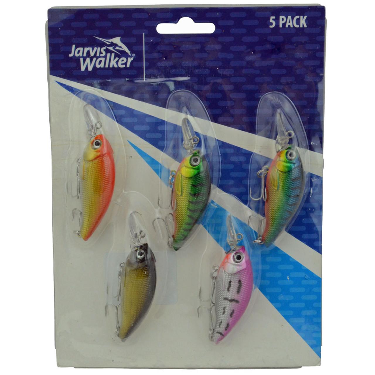 Jarvis Walker Lure Pack (5 Lures)