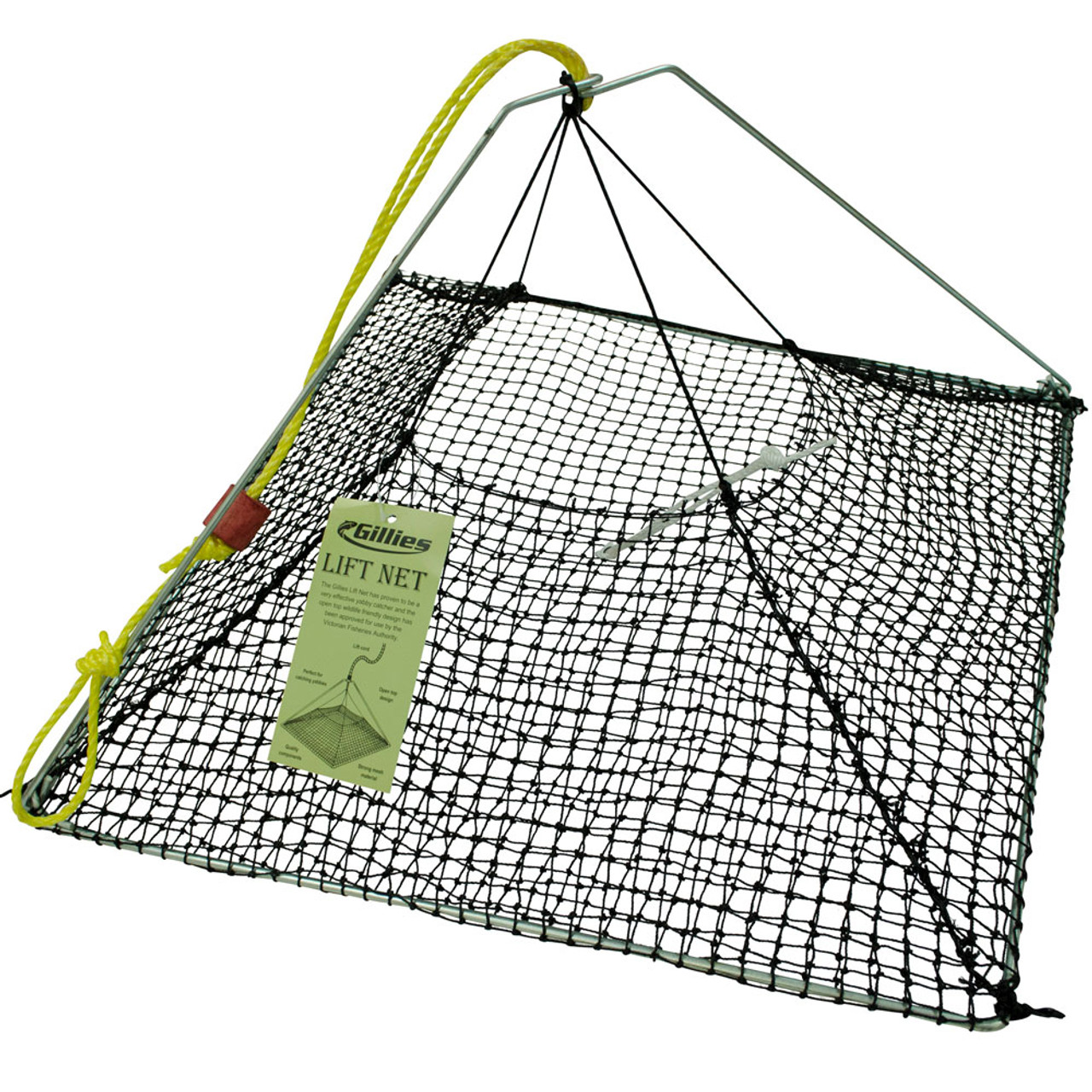 Gillies Pyramid Yabby Nets