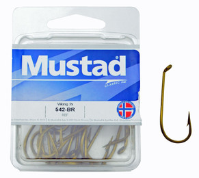 Fishing Hooks - Mustad - 542 - Double Strength