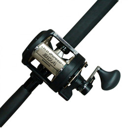 Shimano TLD 30 2 speed fishing reel with T-curve rod