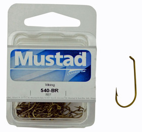 Mustad 540 Hook Model - Viking Box of fishing hooks (25pcs)