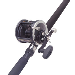 Penn 330 Gti Overhead boat Fishing Rod & Reel with black magic line