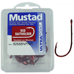 MUSTAD RED BAIT HOLDER BOX 92668