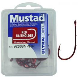 MUSTAD RED BAIT HOLDER BOX 92668