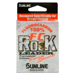 Sunline FC Rock Bream Special Leader - Fluorocarbon