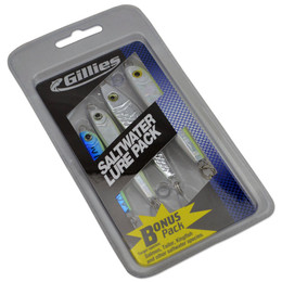 Gillies Metal Spinning Lure Pack