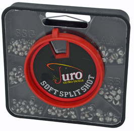 Juro Split Shot Sinkers Dial Pack Assorted