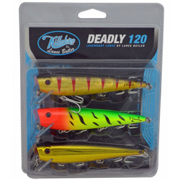 Killalure 2 Deadly Lure Pack for Barra and more.