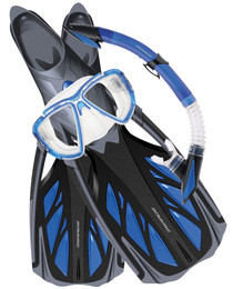 Snorkelling Set Kit Blue - Mirage Platinum