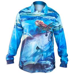Profishent Tackle Jewfish Fishing Shirt