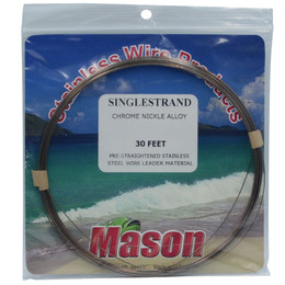 Mason Single Strand Wire Chrome Nickel Alloy