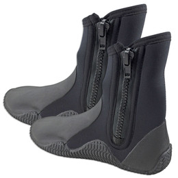 Neoprene Dive Boots Adrenalin 5mm Zip Style