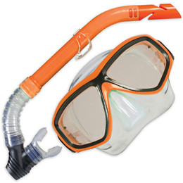 Land And Sea Clearwater Mask And Snorkel