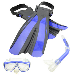 Kids Mask Snorkel Flipper Pack