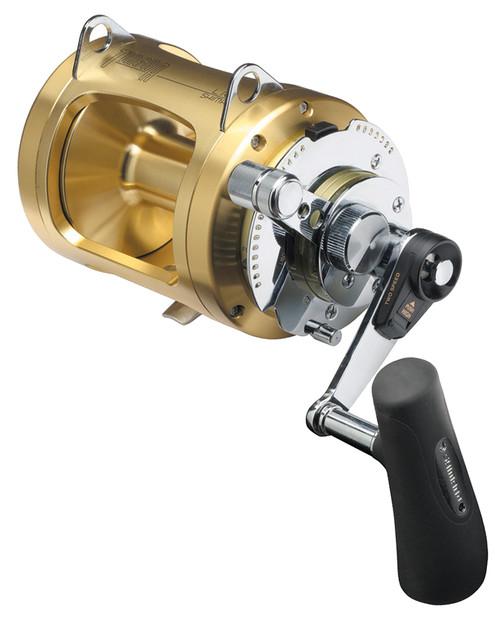 Shimano Tiagra Fishing Reel 80 WA - 2 Speed Game Reel