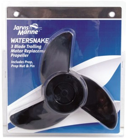 Replacement Propeller 3 prop for Jarvis Marine Watersnake Electric Motors