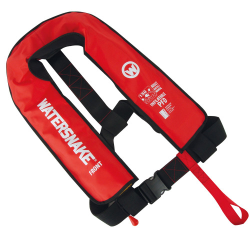 Watersnake Inflatable PFD Jarvis Walker  Adult Level 150