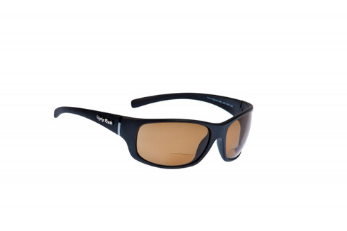 Ugly Fish Polarised Bifocal Sunglasses Eclipse PN3441 MBL.BR+AR+2.50