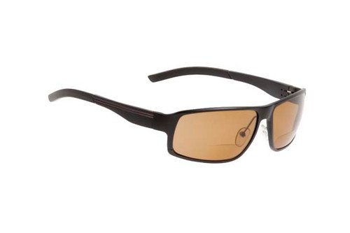 Ugly Fish Polarised Bifocal Sunglasses Avalanche PN24203 MBL.BR+AR+1.50