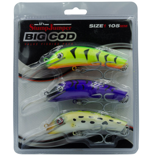 StumpJumper Murray Cod Lures
