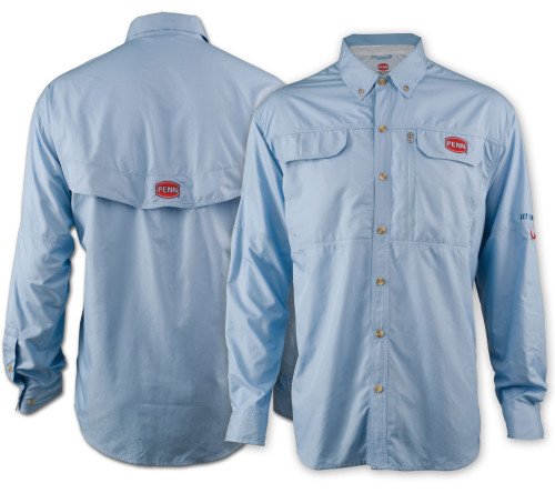 Penn Performance Vented Shirt (Blue)