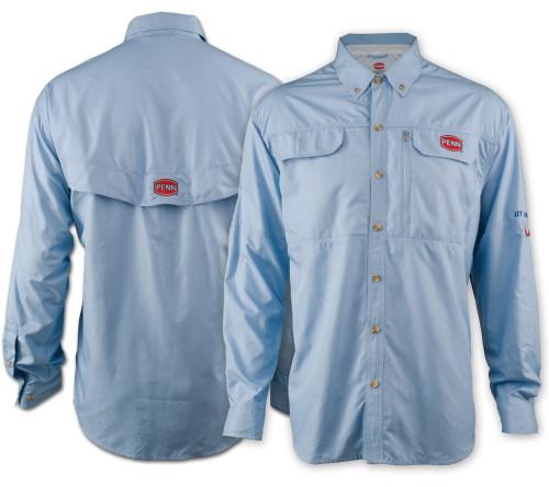 Penn Performance Vented Shirt (Blue)