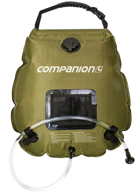 Companion Solar Heated Shower Bag 20 Litre