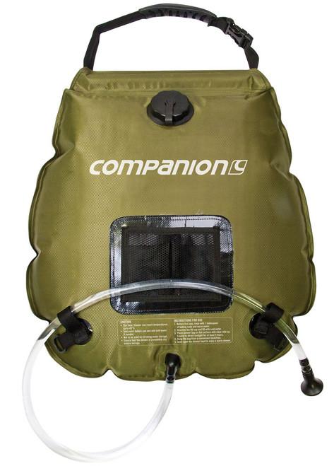 Companion Solar Heated Shower Bag 20 Litre