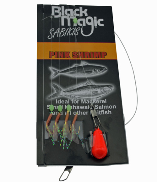 Black Magic Sabiki Rig Bait Catching Jig For Yellowtail Yakka Baitfish
