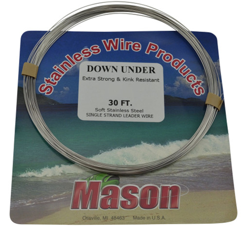 Mason Single Strand Fishing Trace Wire