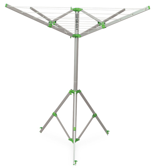 Portable clothesline for camping