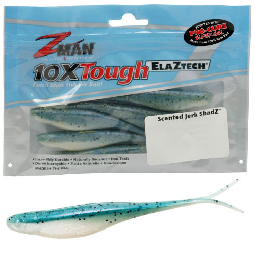 Z Man Jerk Shadz Lures 5 Inch