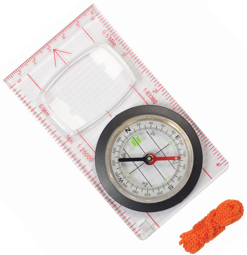 Elemental Orienteering Compass - Map Compass