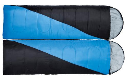 Oztrail Sleeping Bag twin pack 0 degree