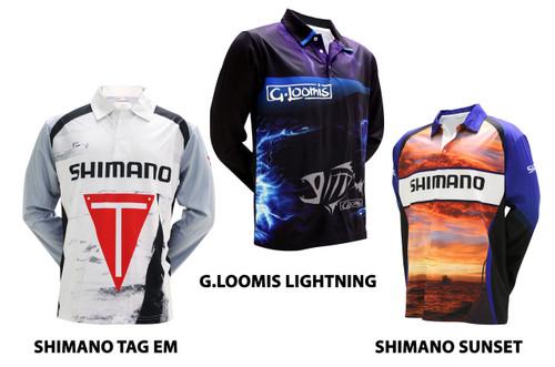 Shimano Sublimation Shirts