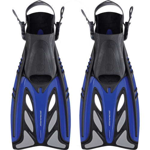 Mirage Crystal Fins Blue