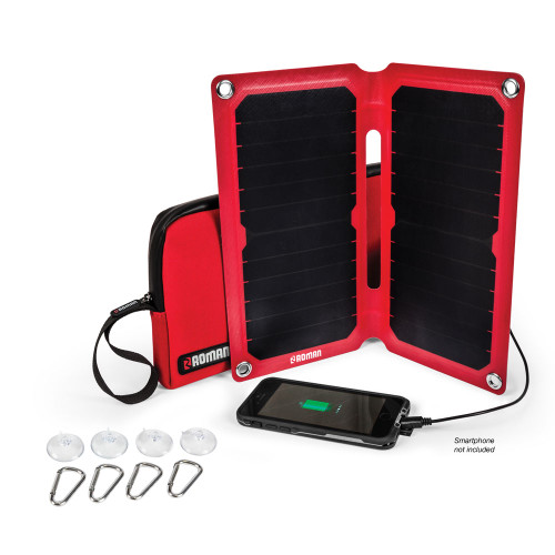 Roman Portable Solar Charger Kit PRI20267 13W