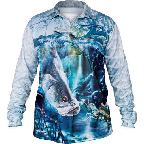 Profishent Tackle Fishing Shirt Barra Model