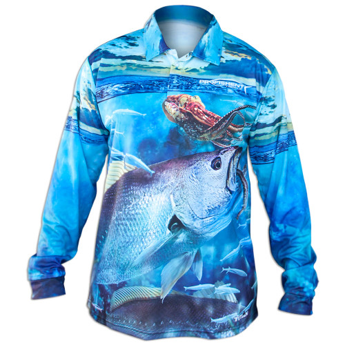 Profishent Tackle Jewfish Fishing Shirt