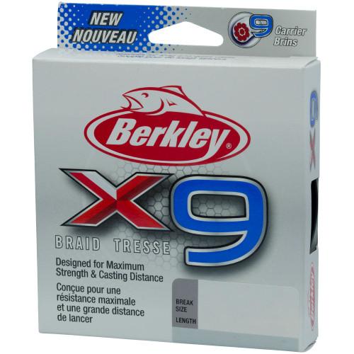 Berkley X9 Braid Fishing Line