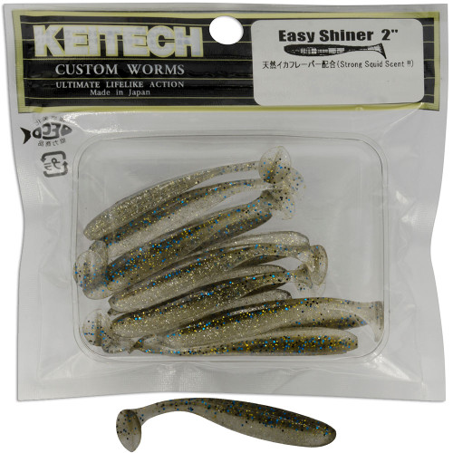 Keitech Easy Shiner Lures