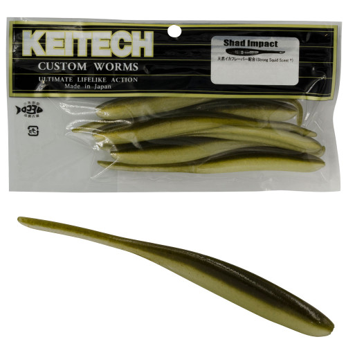 Keitech Shad Impact Lures